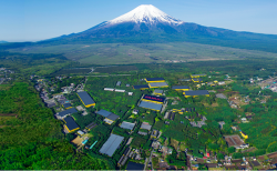 Fanuc Village at the base of Japan's Mt. Fuji. Credit: Methods 3D.