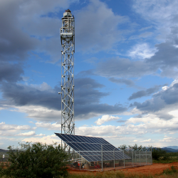 Integrated Fixed Towers in Arizona. Credit: Elbit Systems.